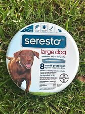 3 Seresto Flea & Tick Collar for Large Dogs OVER 18lbs 100% US EPA APPROVED