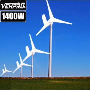 1400W DC 12V Wind Turbine Generator Kit Controller Regulator Home Industry Power