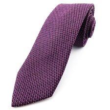 NEXT Skinny Slim Purple Geometric Mens Tie 2 1/4 Inch