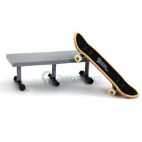 Tech Deck Fingerboard with Table- Skate Park Ramp Parts  Finger Board Scooter