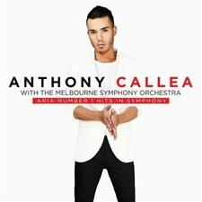 ANTHONY CALLEA ARIA Number 1 Hits In Symphony (Signed by Anthony) CD NEW
