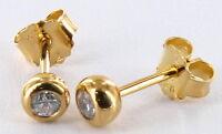 Thomas Sabo Ohrringe H1819-414-14, Ohrstecker, 925/- Silber vergoldet, UVP € 69