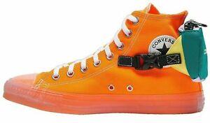 Converse Men's CTAS Buckle Up Hi Top Sneaker 169031C Total Orange