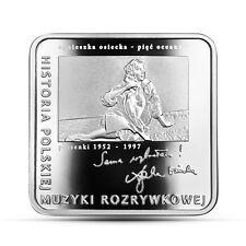 Poland / Polen - 10zl History of Polish Popular Music - Agnieszka Osiecka