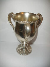 Antique 1902 Reed Barton sterling silver loving cup London golf trophy award