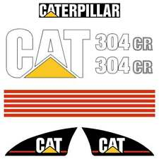 CAT 304CR Decals , repro decal sticker set