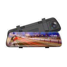 Rétroviseur véhicule de 9,6 pouces avec enregistreur vidéo