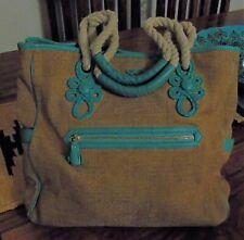 ANYA HINDMARCH Vintage Jute summer bag.(2006)