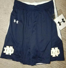 Under Armour Women's Notre Dame Fighting Irish Reversible Basketball Shorts Sz.S