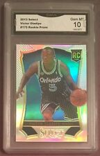 2013-14 Panini Select VICTOR OLADIPO Silver Prizm RC GMA 10 Gem Mint! 💎 Pacers!