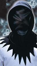 Invisible Mascarilla Negro Con Capucha Muerte Grim Reaper Halloween Vestido De Lujo