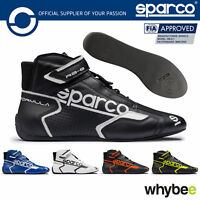 New! 001251 Sparco Formula RB-8.1 Racing Leather Ankle Boots Shoes FIA Fireproof
