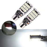 T15 W16W 45 SMD 4014 Error Free LED Car Reverse Back Light Bulbs 6000K White SKU