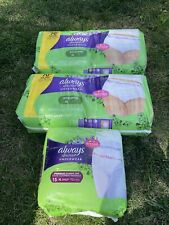 Always Discreet, Incontinence Underwear, Max Classic Cut, Extra-Large, 67 Count!