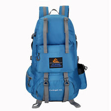 50L Outdoor Tactical Rucksack Backpack Camping Hiking Climbing Trekking Bag Blue