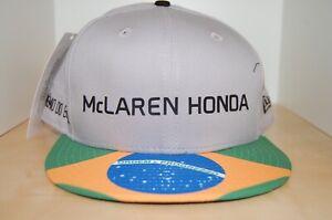 McLaren Honda BRAZIL New Era Formula 1 Baseball Cap (BNWT)
