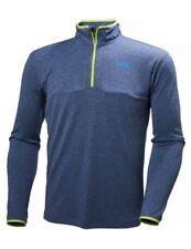 Abbiglimento sportivo da uomo traspirante blu sintetico