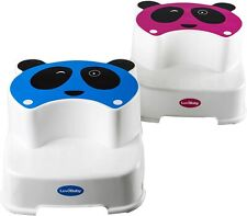Toilet Stool - Steps for Toddlers - The Winking Panda Toddler Blue
