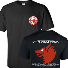 VF1 WOLFPACK STRIKE FIGHTER SQUADRON UNITED STATES NAVY T-SHIRTS S-3XL