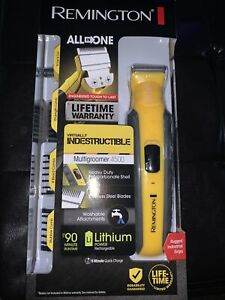 Remington Virtually Indestructible All-in-One Grooming Kit - Yellow (PG6855A)