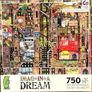 Pepper Dreams NEW PUZZLE, by Ceaco - 750 Pieces - Imag in a Dream Series Imagina