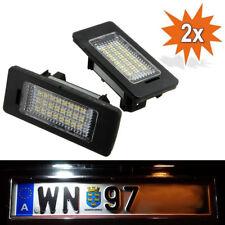 2x LED Kennzeichenbeleuchtung für BMW 5er E39 E60 E61 BMW 3er E90 E91 E92 E93