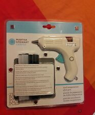 Lot of (4) Martha Stewart Crafts- Stamp Setting Kit, Glue Gun, Glitter PLUS