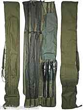 CARP FISHING NGT DELUXE 3+3 PADDED ROD AND REEL HOLDALL 12FT CARP RODS 618