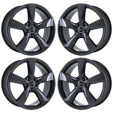 "20"" AUDI A6 S6 PVD CHROME WHEELS RIMS FACTORY OEM 2017 2018 SET 4 58942 EXCHANGE"