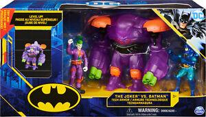 DC Comics Batman The Joker Vs Batman Action Figure Set Tech Armor 1st Edition