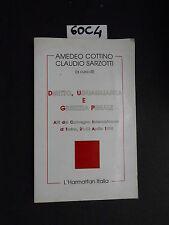 atti convegno 1995 DIRITTO, UGUAGLIANZA E GIUSTIZIA PENALE (60 C 4)