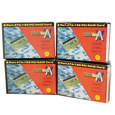 7x Newlink 2 port ATA-133 PCI IDE RAID Card Supports up to 4 IDE Devices- Joblot