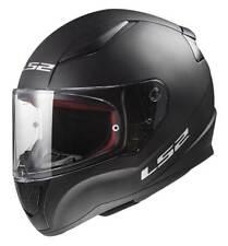 LS2 Helmets Full Face Street Rapid Motorcycle Helmet, Solid Matte Black 353-101