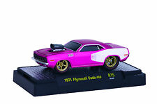 M2 Machines! Ground Pounders! 1971 Plymouth Cuda​ ! American Hot Rod