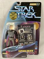 1997 Playmates | Star Trek Warp Factor Series | Captain Koloth |  Action Figure