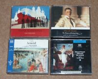 4 CLASSIC FICTION AUDIO BOOKS CDs DORIAN GRAY/PROUST/ANNA KARENINA/VIRGIL AENEID