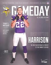 Minnesota Vikings Atlanta Falcons 9/28/14 NFL Game Program...Harrison Smith