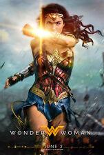 Wonder Woman Advance Movie Poster - Style B (24x36) - Gal Gadot, Chris Pine