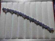 Tanzanite Sterling Silver Braclet