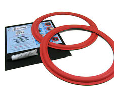 CERWIN VEGA SPEAKER DXW15 Woofer Foam Edge Replacement Repair Kit # FSK-15FR