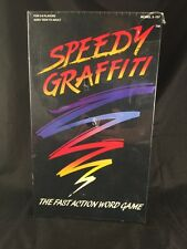 Games Speedy Graffiti Fast Action Word Game New in Box factory sealed a2