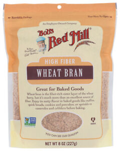 Bob's Red Mill  Wheat Bran  (Pack of 4, 8 OZ Bags)