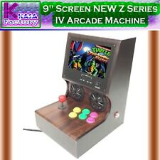 "KASA 9"" Screen Z Series IV Arcade Machine 400 Video Games 32Bit CPU 4GB memory"