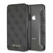 Genuine Apple iPhone Pelle Custodia Protettiva X FLIP COVER FUCSIA
