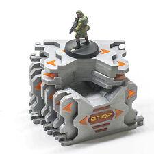 Sci-fi Interlocking Barricades set of 10 for 28mm Infinity Wargame Terrain