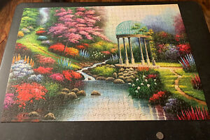 Spring Puzzle 1000 Piece Jigsaw Puzzle 14 yrs and Up – Spring ga Den & Flowers