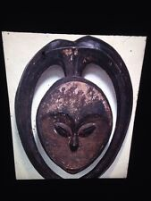 Kwele Congo-mask In Horn Circle- African Tribal Art 35mm Slide
