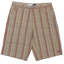 Oakley CLASS Short Size 34 L Wood Grey Tan Mens Casual Golf Shorts Walkshort