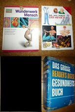 3 Bücher Ratgeber Nachschlagewerk, GESUNDHEIT,  Der Mensch