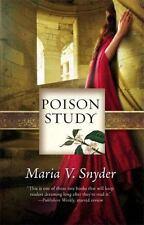 Poison Study (Study, Book 1) Maria V. Snyder Paperback